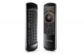 Orbsmart AM-1 kabellose Airmouse mit deutscher Tastatur & IR-Learning Funktion