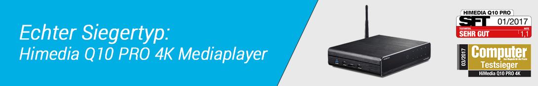 4K Mediaplayer Testsieger