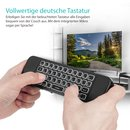 Orbsmart AM-1 Pro wireless Airmouse with german keyboard & IR-Learning function
